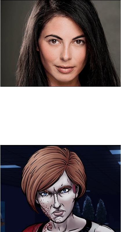Dani Lennon as Miriam Dekalb in To Your Last Death