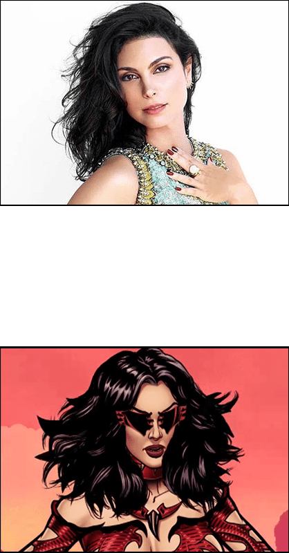 Morena Baccarin as Gamemaster in To Your Last Death