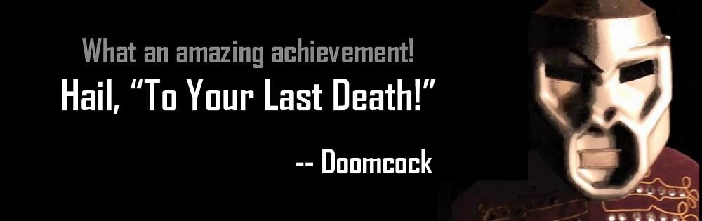 Doomcock Quote