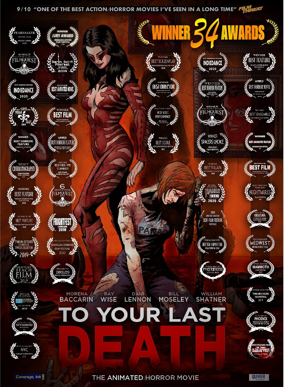 To Your Last Death 34 Awards - Dec 2020